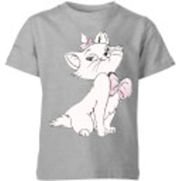 T-Shirt Enfant Disney Marie Aristochats - Gris - 7-8 ans - Gris