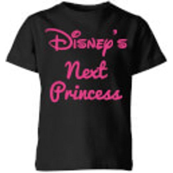 T-Shirt Enfant Qui Sera la Nouvelle Princesse Disney - Noir - 7-8 ans - Noir
