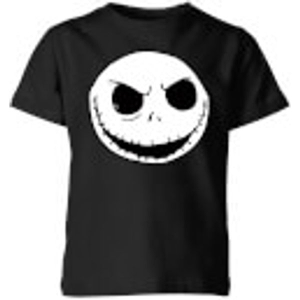 The Nightmare Before Christmas Jack Skellington Kids' T-Shirt - Black - 5-6 ans - Noir