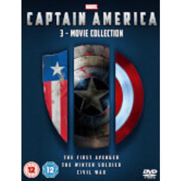 Captain America 1-3 Boxset (BUG0264401)