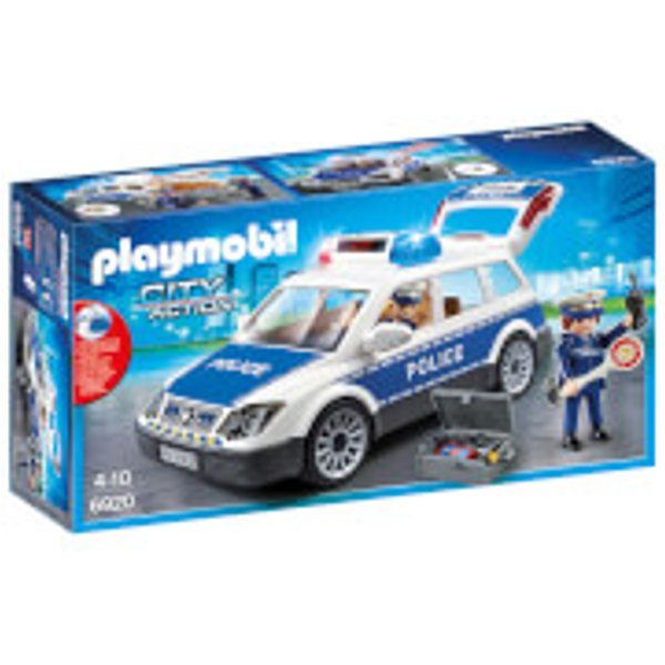 Playmobil - City Action - Squad Car with Lights and Soun