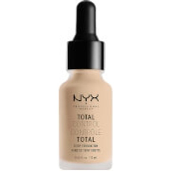 NYX Total Control Drop Foundation 02 Alabaster (13 ml)