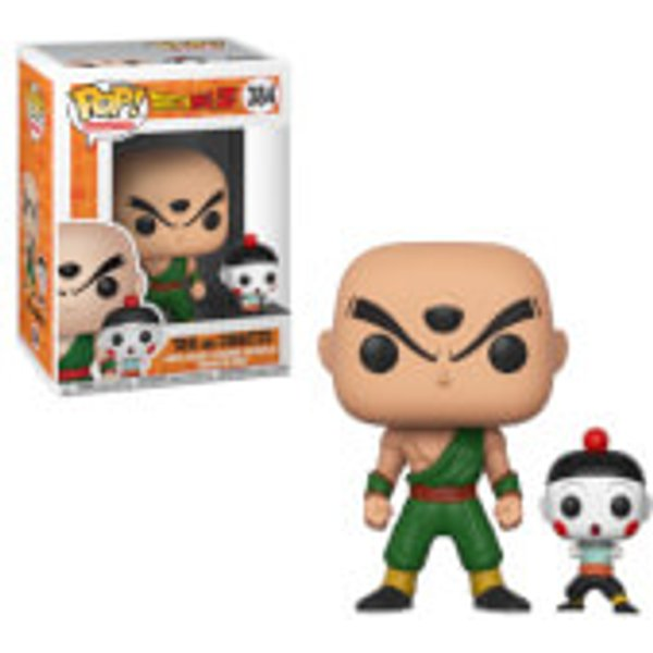 Dragon Ball Z Pop! Games Vinyl Figure -Tien and Ciaotzu