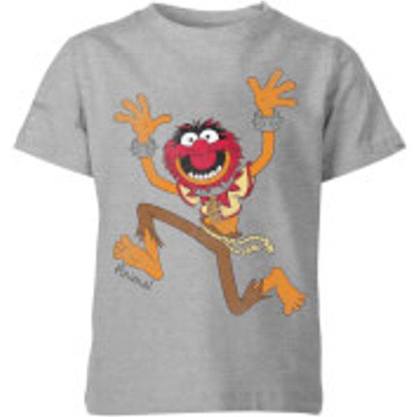 T-Shirt Enfant Animal Muppets Disney - Gris - 11-12 ans - Gris
