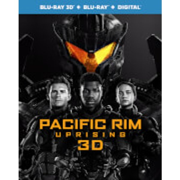 Pacific rim uprising 3d blu-ray blu-ray digital download