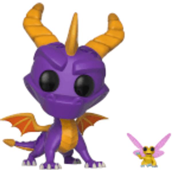 Spyro the dragon - figurine pop! Spyro & sparx 9 cm