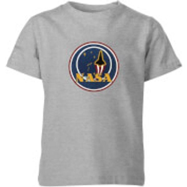 NASA JM Patch Kinder T-Shirt - Grau - 5-6 Jahre - Grau