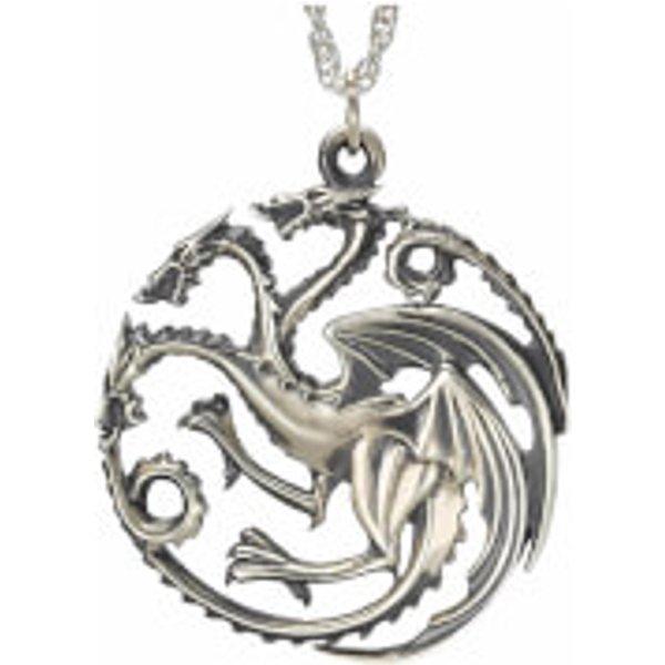 Game Of Thrones Targaryen Halskette silberfarben