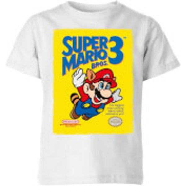 T-Shirt Enfant Bros 3 - Super Mario Nintendo - Blanc - 9-10 ans - Blanc