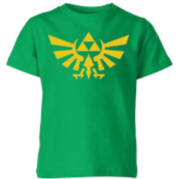 T-Shirt Enfant Hyrule - The Legend Of Zelda Nintendo - Vert - 9-10 ans - Kelly Green