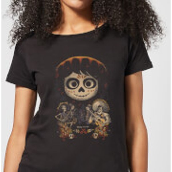 Coco Miguel Face Poster Damen T-Shirt - Schwarz - S - Schwarz