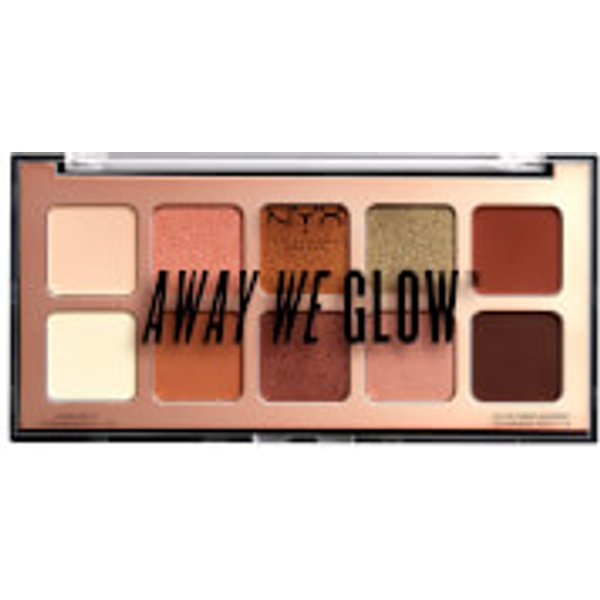 NYX Palette - Away we Glow Shadow Palette Hooked on Glow