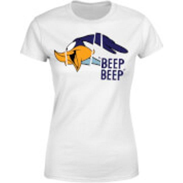 Looney Tunes Road Runner Beep Beep Damen T-Shirt - Weiß - XS - Weiß
