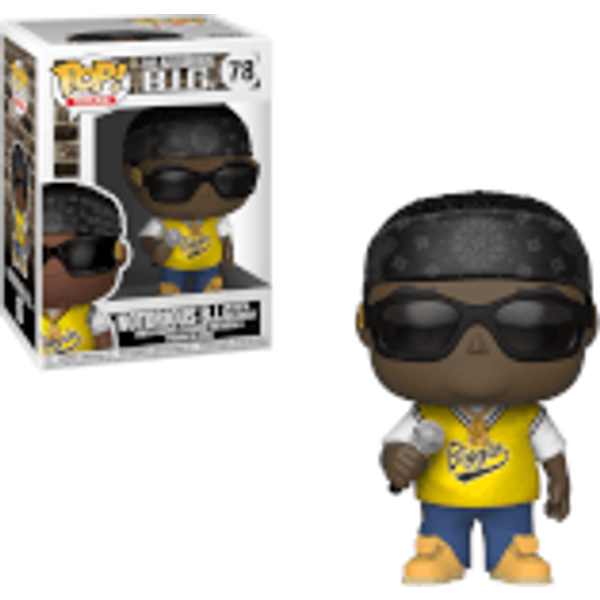 NOTORIOUS BIG WITH JERSEY / NOTORIOUS BIG / FIGURINE FUNKO POP