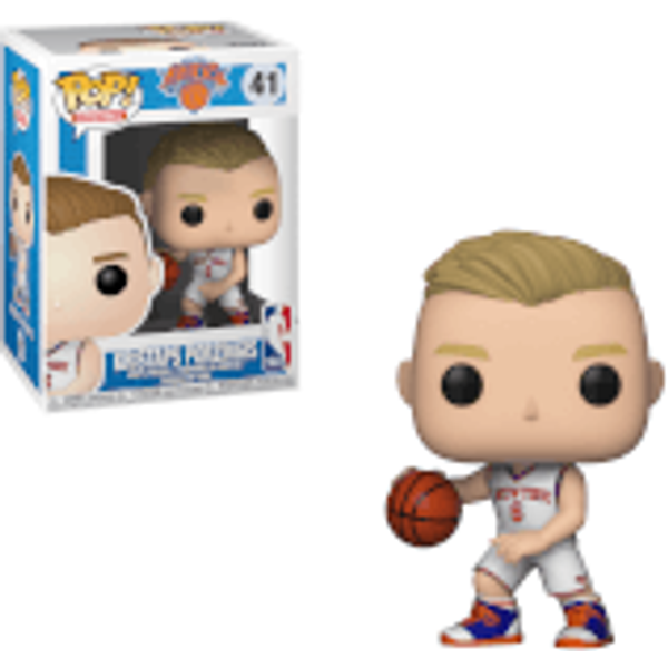 Funko Pop NBA Knicks Kristaps Porzingis Vinyl Figure