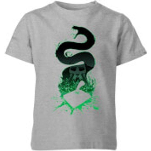 T-Shirt Enfant Silhouette de Nagini - Harry Potter - Gris - 5-6 ans - Gris