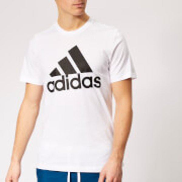adidas Must Haves Badge Of Sport Tee - Small White