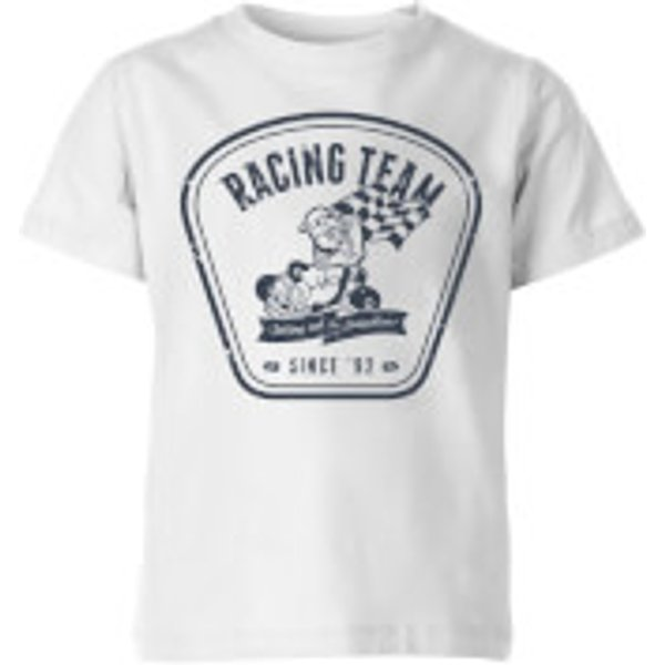 Nintendo Mario Kart Racing Team Kid's T-Shirt - White - 11-12 Years - White