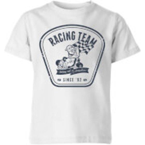 Nintendo Mario Kart Racing Team Kid's T-Shirt - White - 9-10 ans - Blanc