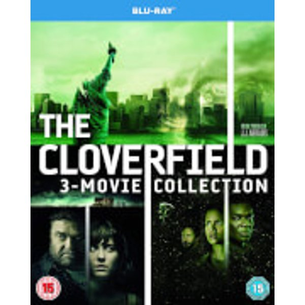 The cloverfield - 3 movie collection blu-ray (8317966)