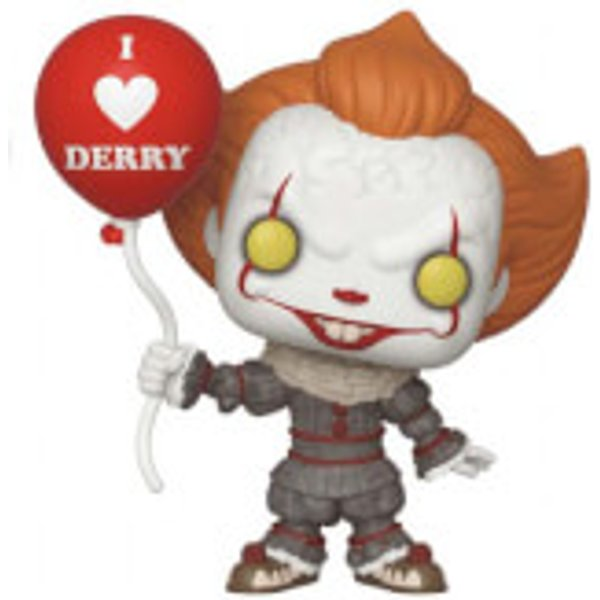 IT Chapter 2 Pennywise with Balloon Pop! Vinyl Figure
