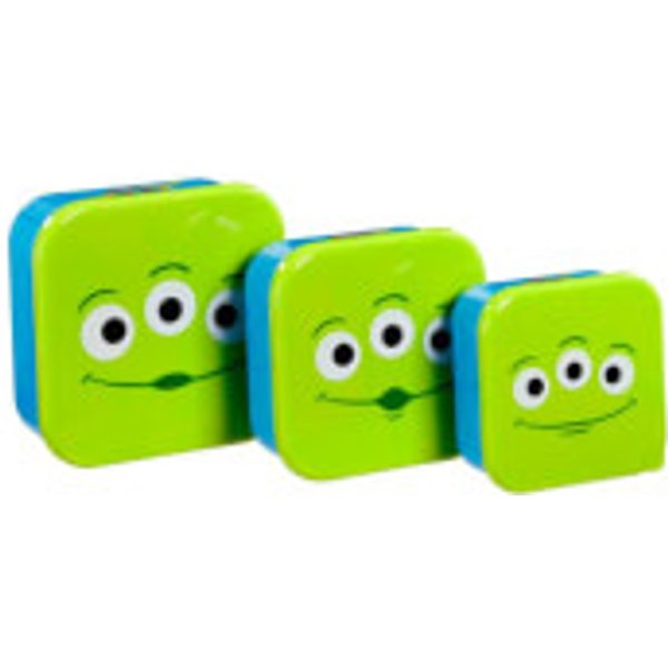 Funko Homeware Disney Toy Story Aliens Plastic Storage Set