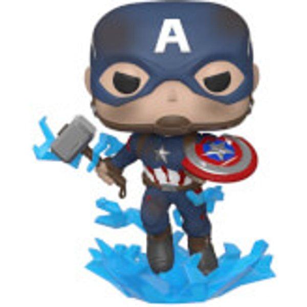 Marvel Avengers: Endgame - Captain America mit Shild Pop! Vinyl Figur