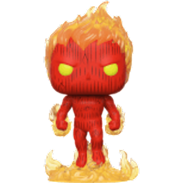 Marvel Fantastic Four Human Torch Pop! Vinyl Figure