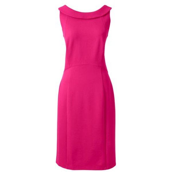 Lands' End - Petite Portrait Collar Jersey Dress - 1