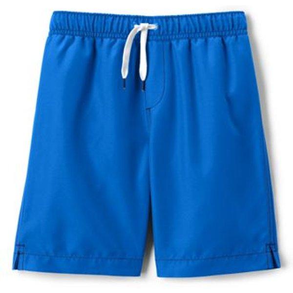 Lands' End - Little Boys' Plain Swim Shorts - 1