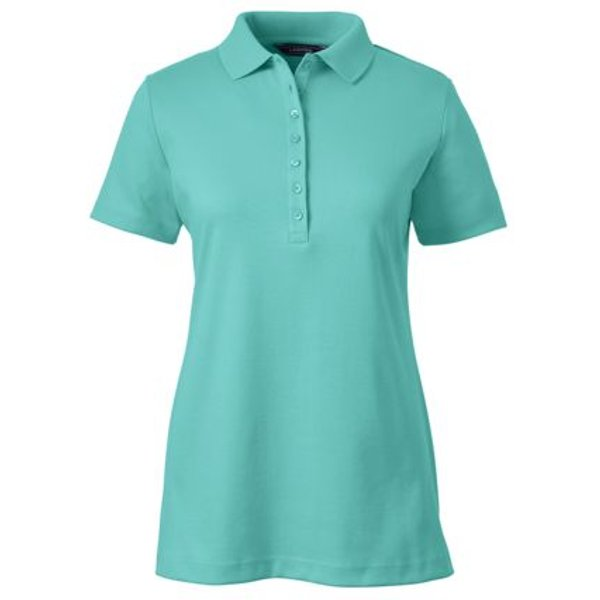 Lands' End - Short Sleeve Pima Polo Shirt - 1