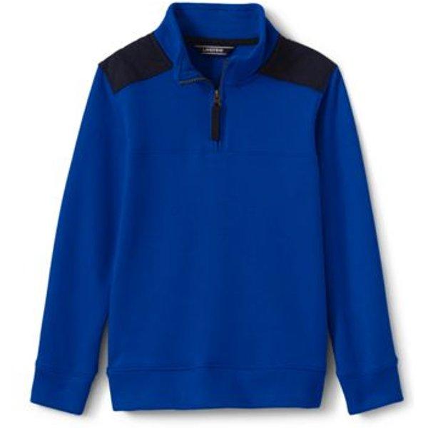 Lands' End - Boys' Half-zip Sweatshirt - 1