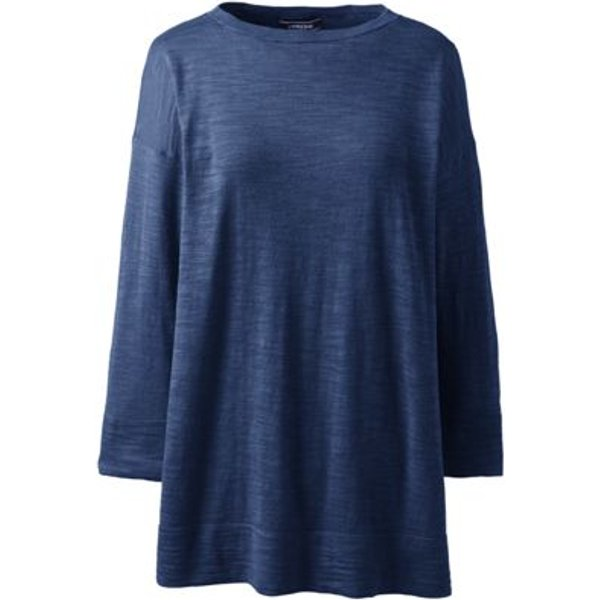 Lands' End - Cotton Blend Boatneck Top - 1