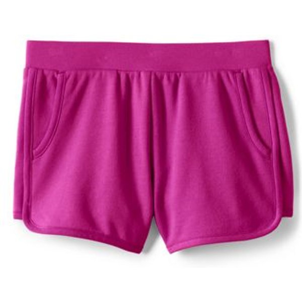 Lands' End - Little Girls' French Terry Shorts - 1