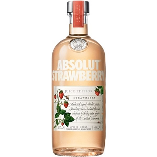 Absolut Vodka Juice Edition Strawberry