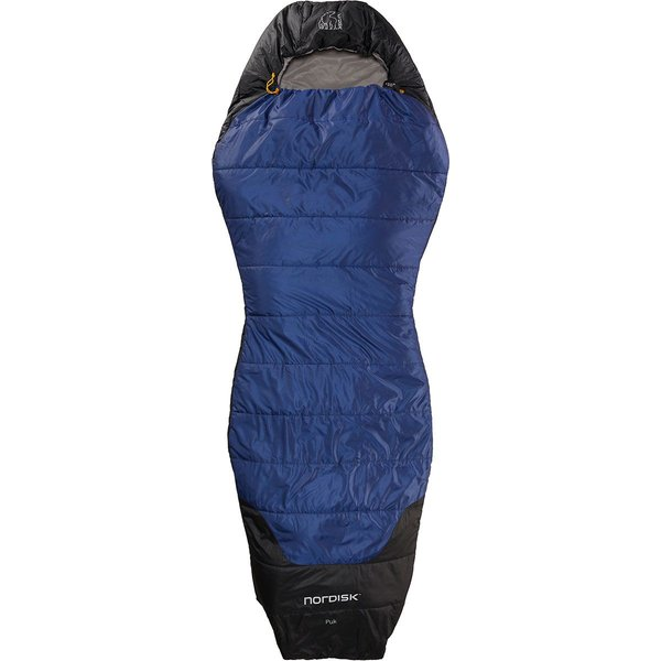 Nordisk Puk +10 Curve Sleeping Bag - One Size Navy/Gray/Black
