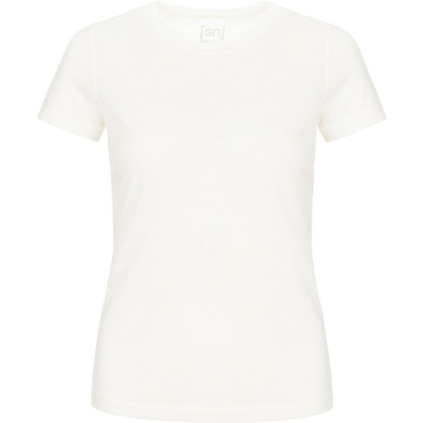 super.natural Base 175 Tech Tee fresh white
