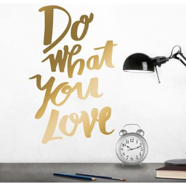 Stickers muraux Do what you love XL