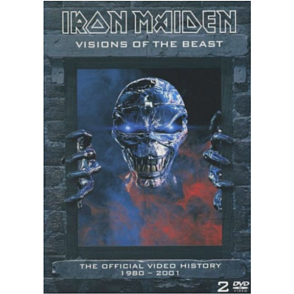 Iron Maiden Visions of the beast 2-DVD Standard