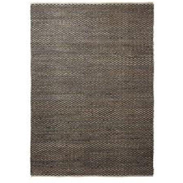 Tapis Patna en laine et jute par Esprit motif Uni/Degradé Marron 80x150