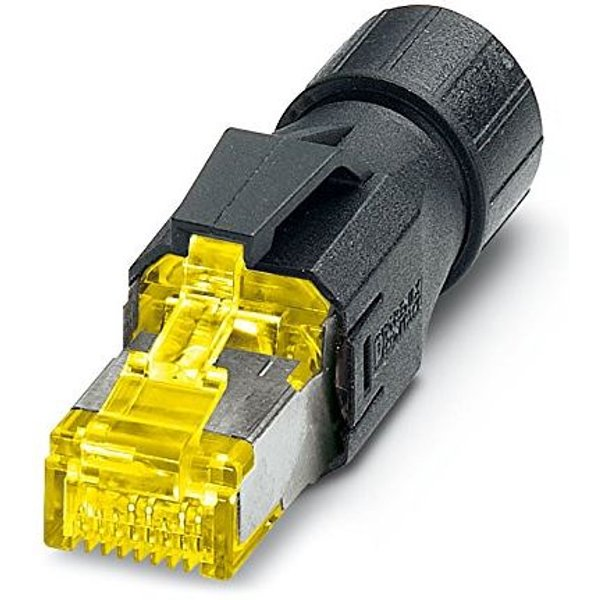 Phoenix Contact 1419001 RJ45 Plug, Cable Mount, Yellow and Black