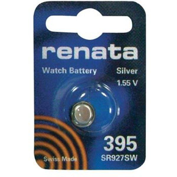 Renata SR57 Knopfzelle 395 Silberoxid 55 mAh 1.55V 1St