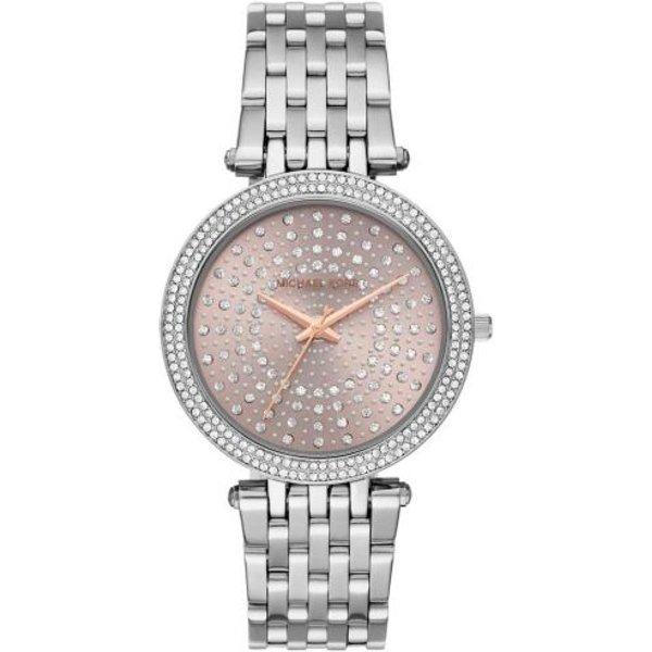 Michael Kors Darci Stainless Steel Pink Ladies Watch MK4407
