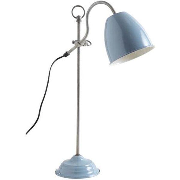 Aubry Gaspard - Lampe de bureau en métal laqué Bleu