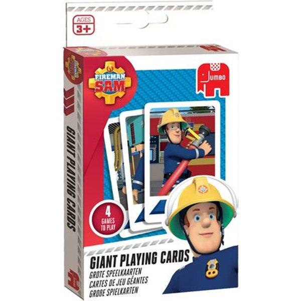 Fireman Sam, Grosse Spielkarten (Kinderspiel)