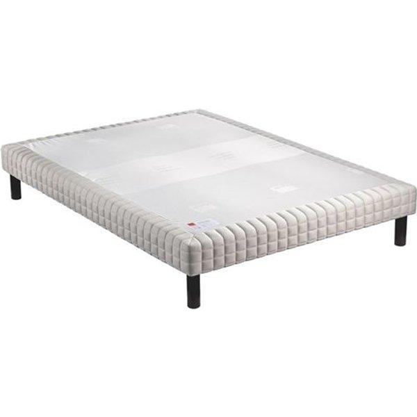 Sommier tapissier epeda confort medium 160x200 avec 2 sommiers