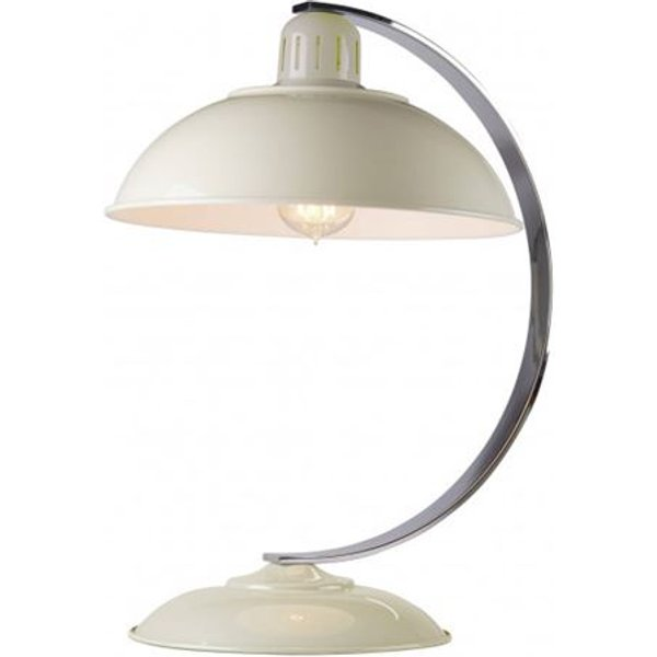 FRANKLIN CREAM Franklin Cream 1 Light Retro Bureau Desk Lamp