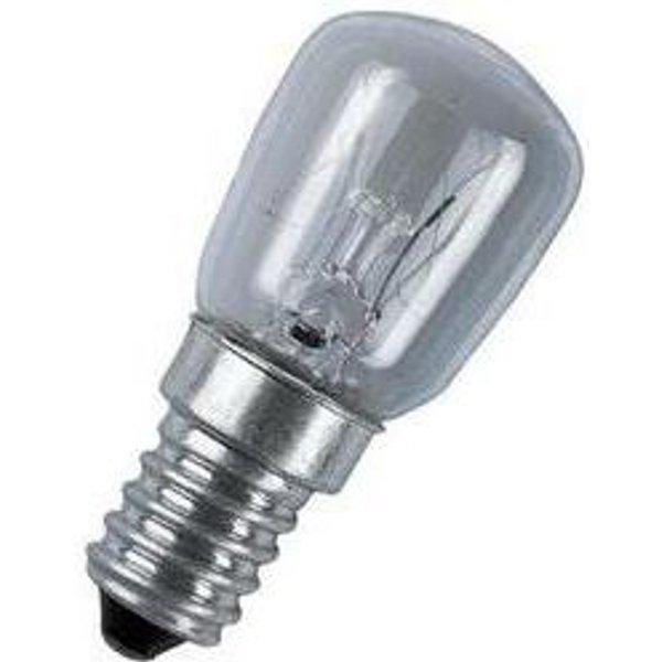 Kolbenlampen T26 E14 klar & matt Osram (4050300323596)