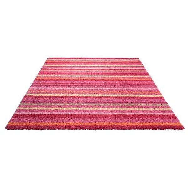 Tapis FUNNY STRIPES par Esprit Home motif Rayé Rose 90x160