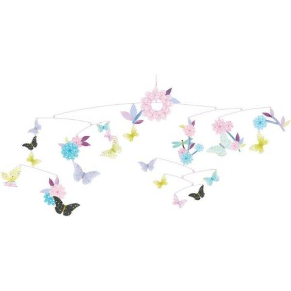 Mobile : ronde des papillons djeco